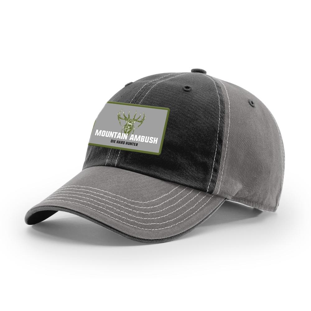 736d0c31f90926 Mountain Ambush Elk Bugle Patch Unstructured Relaxed Fit Hat H010 ...